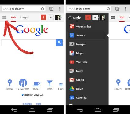 résultats google sur mobile