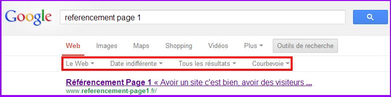 référencement sur google
