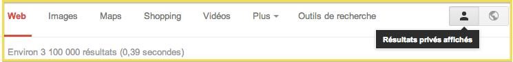 google privé